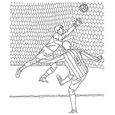 colouring pages soccer pin title i love soccer on pinterest on we heart it soccer colouring pages