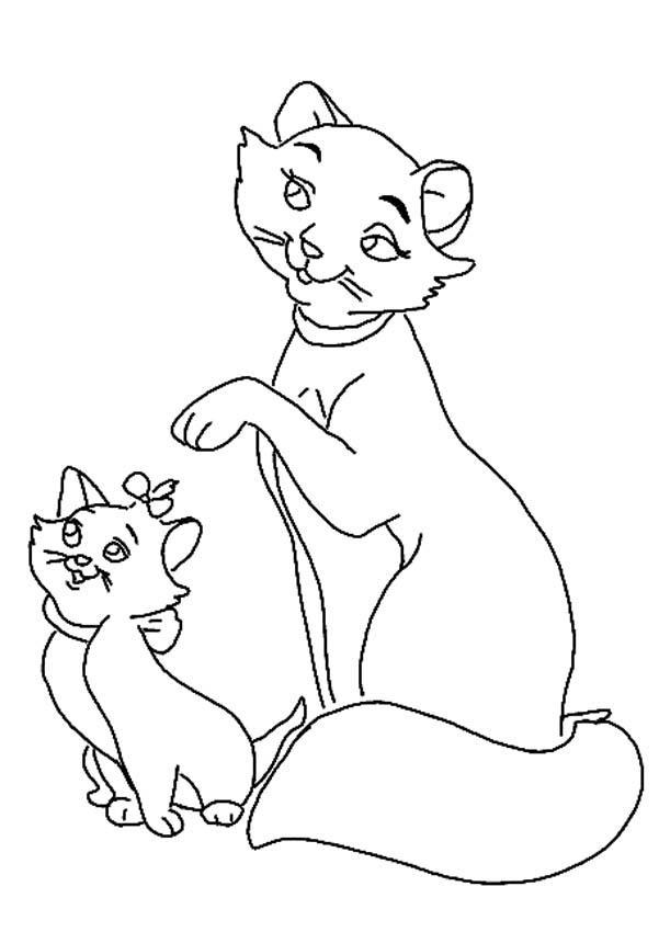 colouring pictures cats kittens free printable cat coloring pages for kids cats kittens pictures colouring