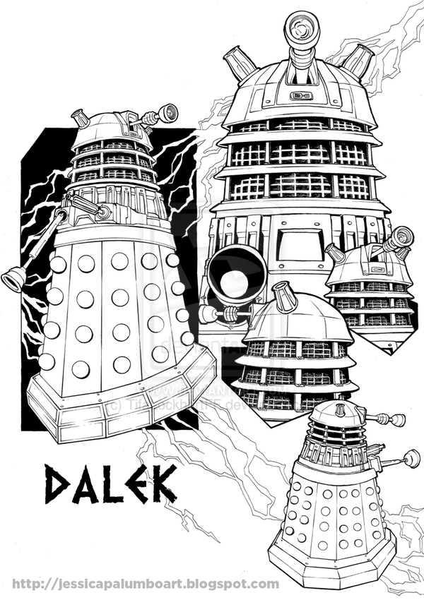 dalek colouring pages 1000 images about cards doctor who on pinterest dalek pages colouring