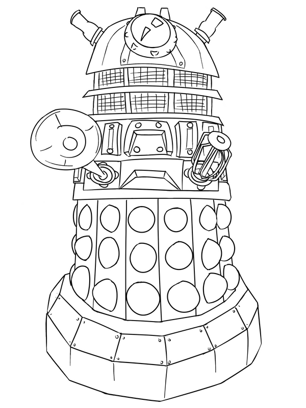 dalek colouring pages colour your own chibi dalek jinkies3639s stash dalek pages colouring