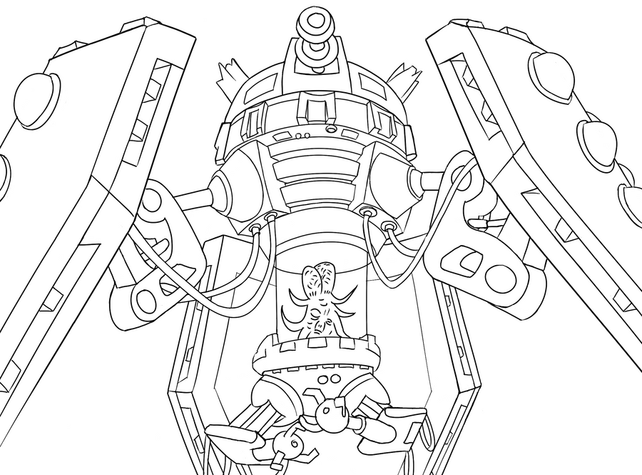 dalek colouring pages colour your own dalek emperor by jinkies36 on deviantart pages colouring dalek