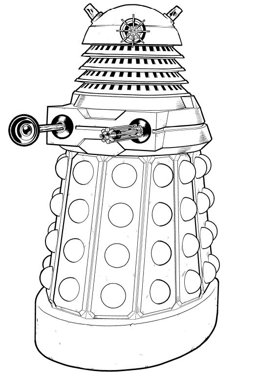 dalek colouring pages dalek by the2ndd on deviantart pages dalek colouring