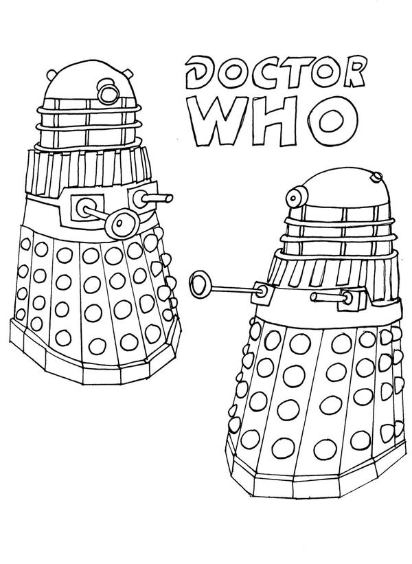 dalek colouring pages dalek xd coloring pages pinterest dalek pages colouring