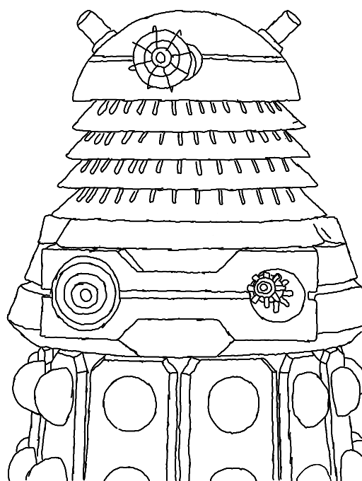 dalek colouring pages doctor who dalek coloring pages getcoloringpagescom dalek colouring pages