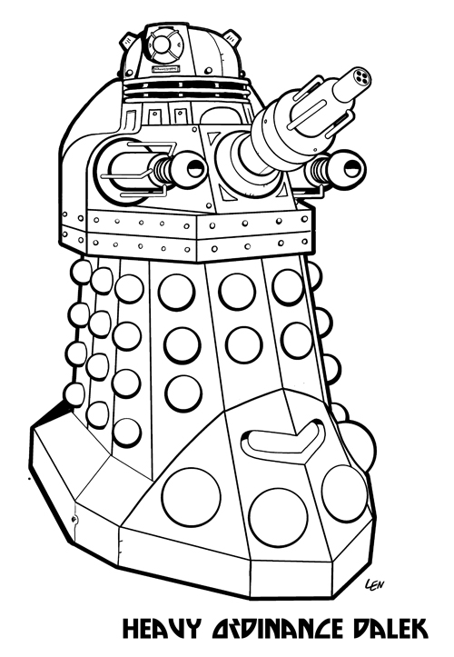 dalek colouring pages eclectic micks july 2010 dalek pages colouring