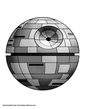 death star printable death star stencil free stencil gallery star death printable