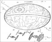 death star printable star wars x wing coloring pages printable death printable star