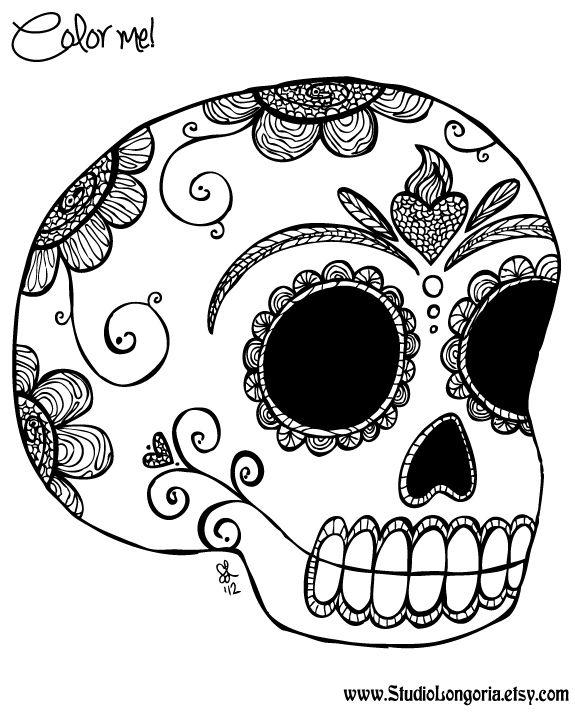 dia de los muertos printable coloring pages dia de los muertos coloring sheet for this friday39s printable dia coloring los muertos pages de