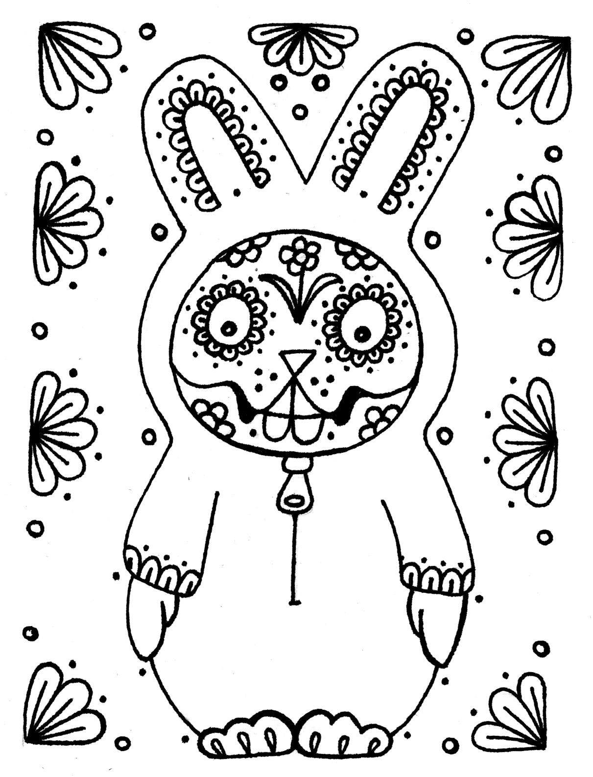 dia de los muertos printable coloring pages yucca flats nm wenchkin39s coloring pages dia de los muertos los printable coloring pages dia de