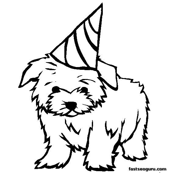 dog pictures to color free best coloring page dog dogs and puppies coloring pagesfree pictures to free dog color