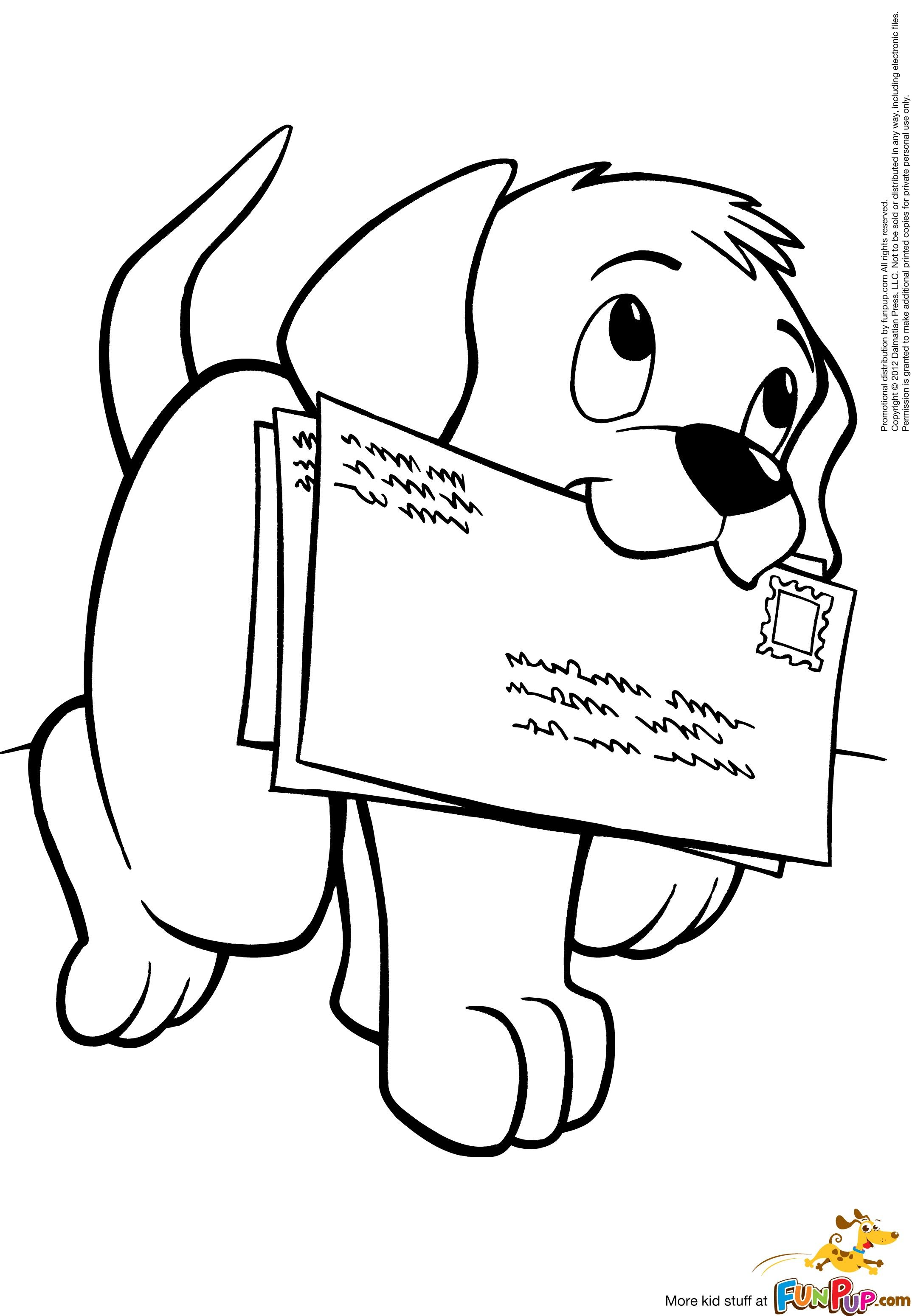 dog pictures to color free cartoon puppy coloring page for kids animal coloring pictures color dog free to