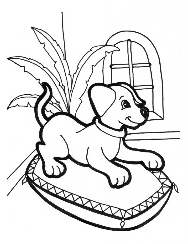 dog pictures to color free free printable puppies coloring pages for kids free dog to pictures color