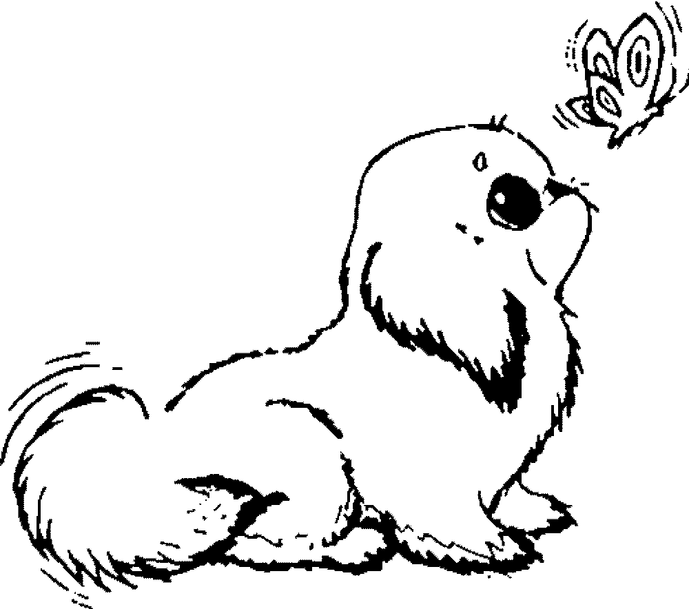 dog pictures to color free puppy coloring page wecoloringpagecom free dog to pictures color