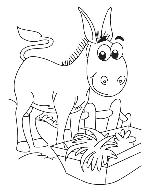 donkey coloring pages donkey coloring page woo jr kids activities coloring pages donkey