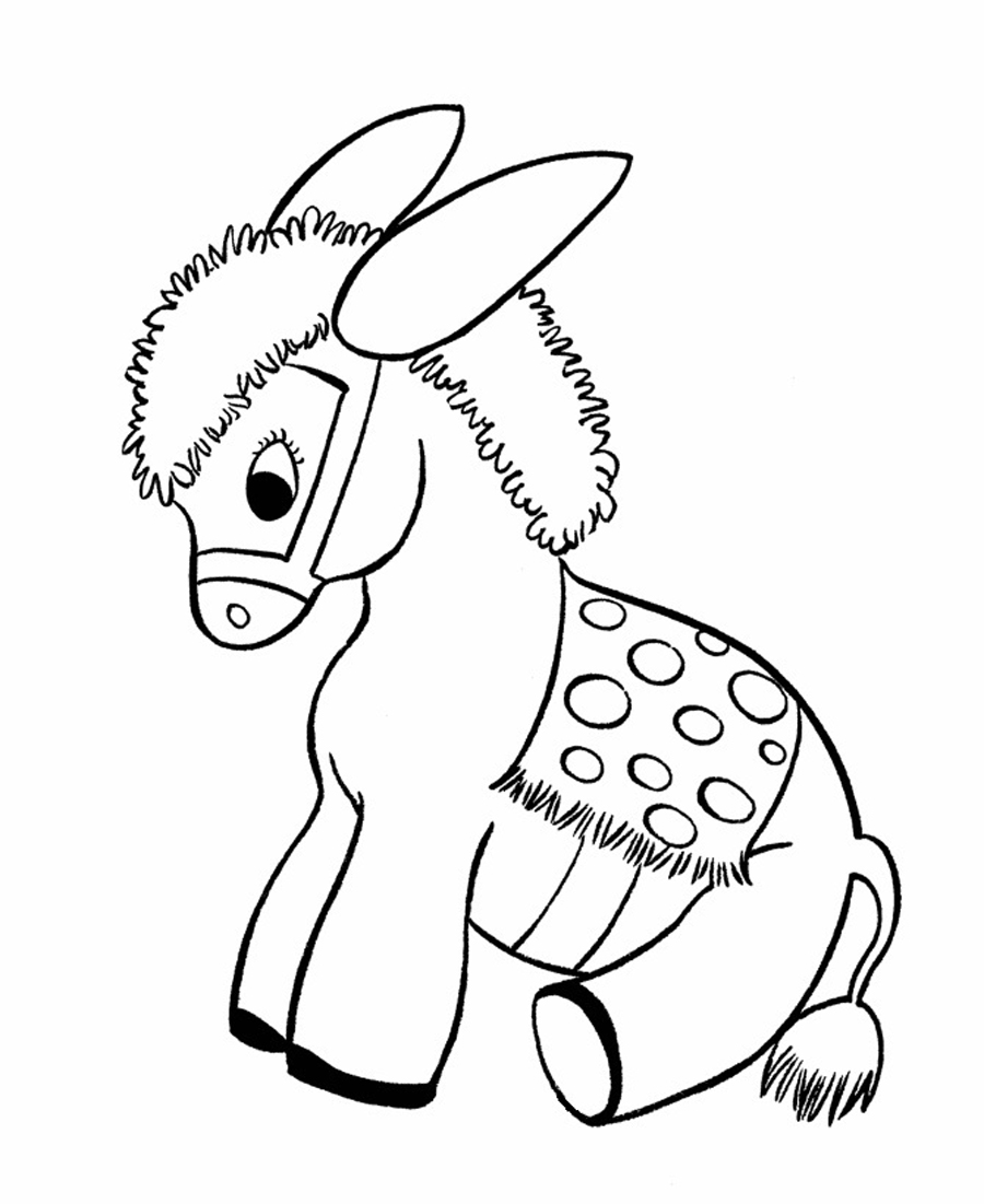 donkey coloring pages free printable donkey coloring pages for kids pages coloring donkey