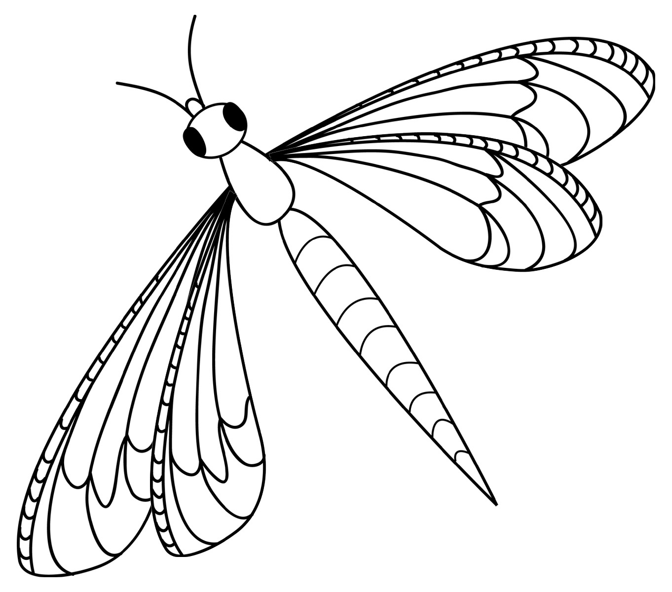 dragonfly colouring page free printable dragonfly coloring pages for kids animal dragonfly colouring page
