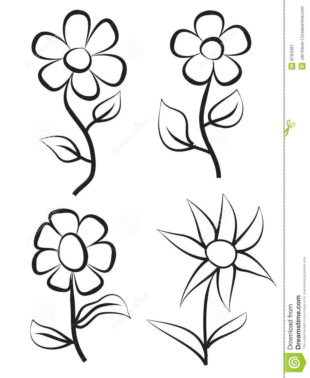 easy plants to draw Как нарисовать цветок сакуры поэтапно для начинающих easy to draw plants
