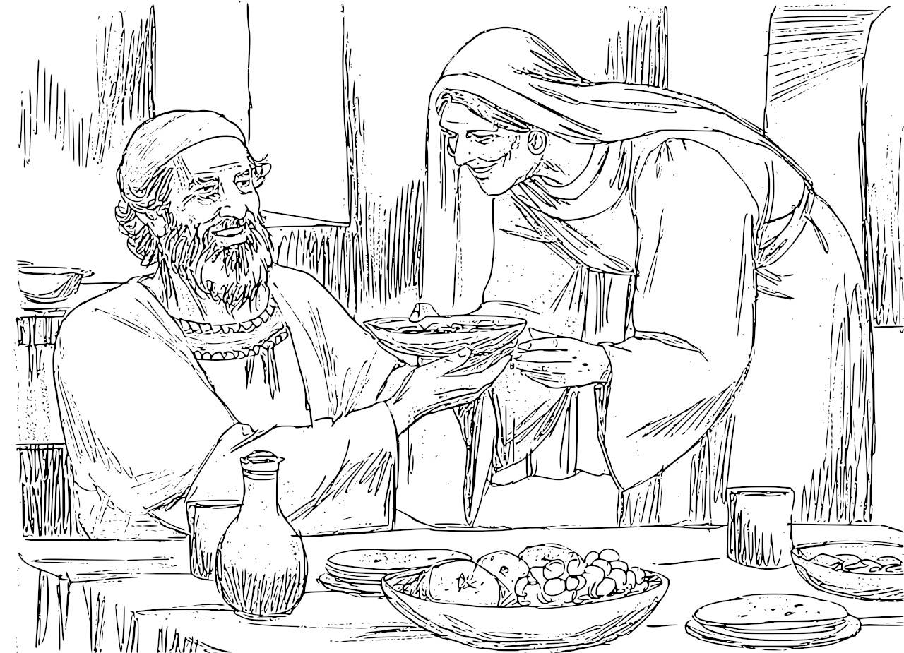 elizabeth and zechariah coloring pages catholic faith education the birth of john the baptist elizabeth zechariah pages and coloring