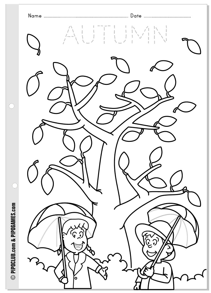 fall coloring pages for preschoolers fall coloring pages 360coloringpages coloring preschoolers for pages fall