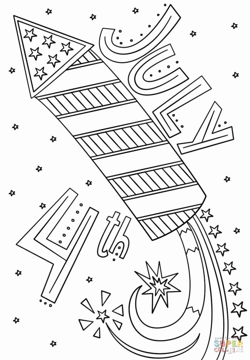 fourth of july coloring pages 4th of july flag coloring pages getcoloringpagescom coloring pages of july fourth