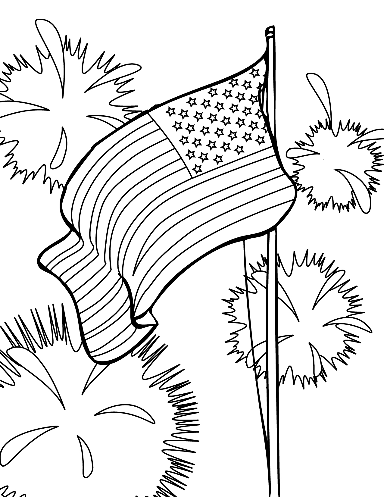 fourth of july coloring pages fourth of july coloring pages part iii july of coloring fourth pages