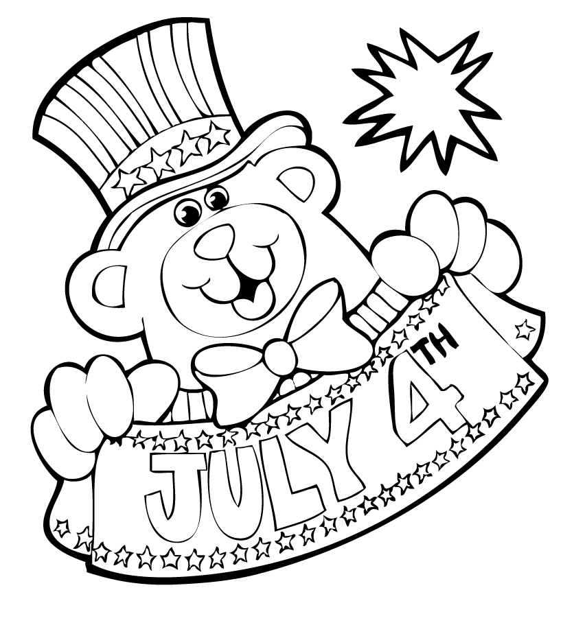 fourth of july coloring pages free coloring pages fourth of july coloring pages july pages coloring fourth of