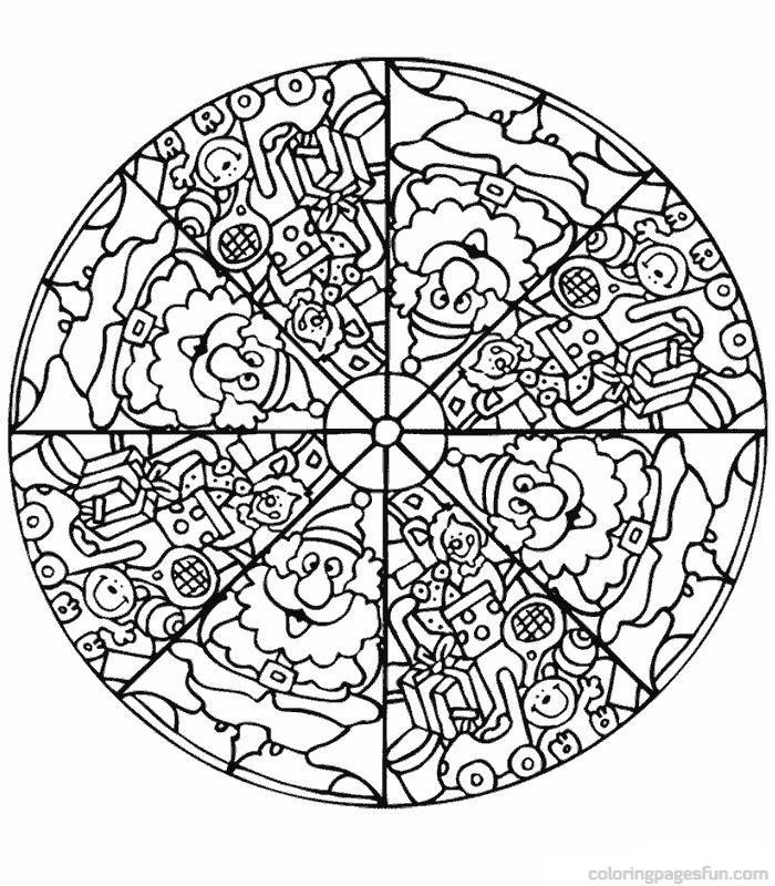 free coloring mandalas abstract mandala coloring page for adults digital download mandalas coloring free
