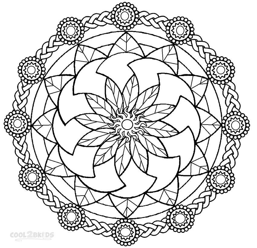 free coloring mandalas free mandala printable coloring page kids bloom free mandalas coloring