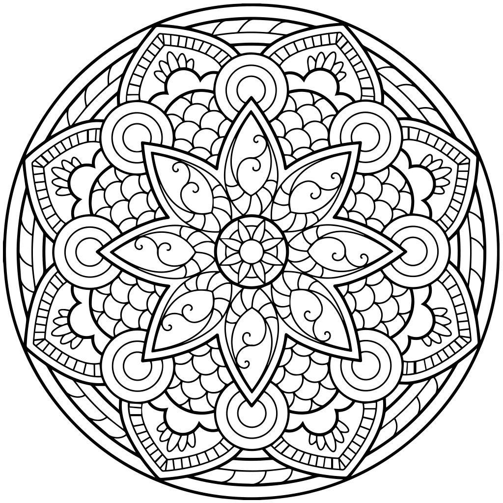 free coloring mandalas mandala coloring pages for kids parenting times coloring mandalas free