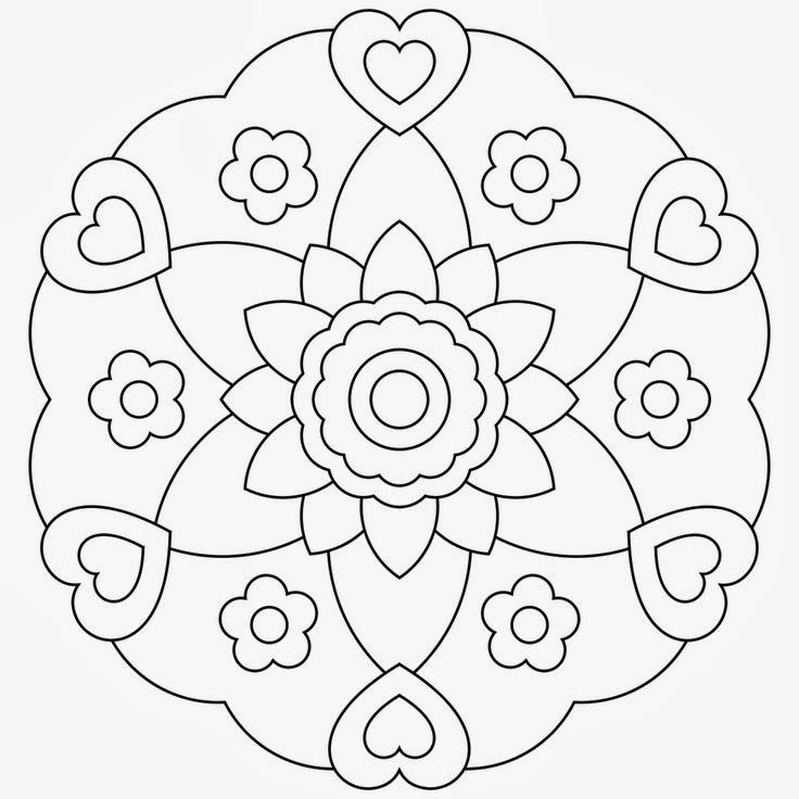 free coloring mandalas printable coloring pages free coloring mandalas