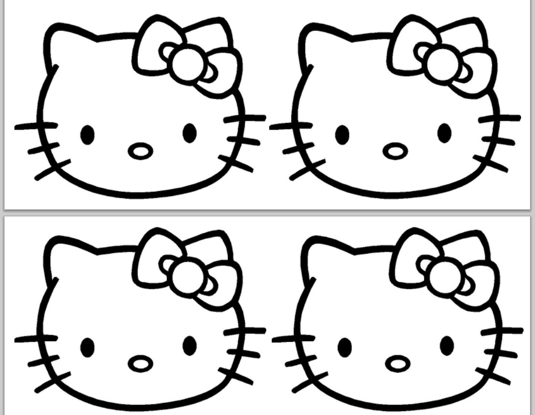 free hello kitty printables cute coloring page team colors hello free printables kitty