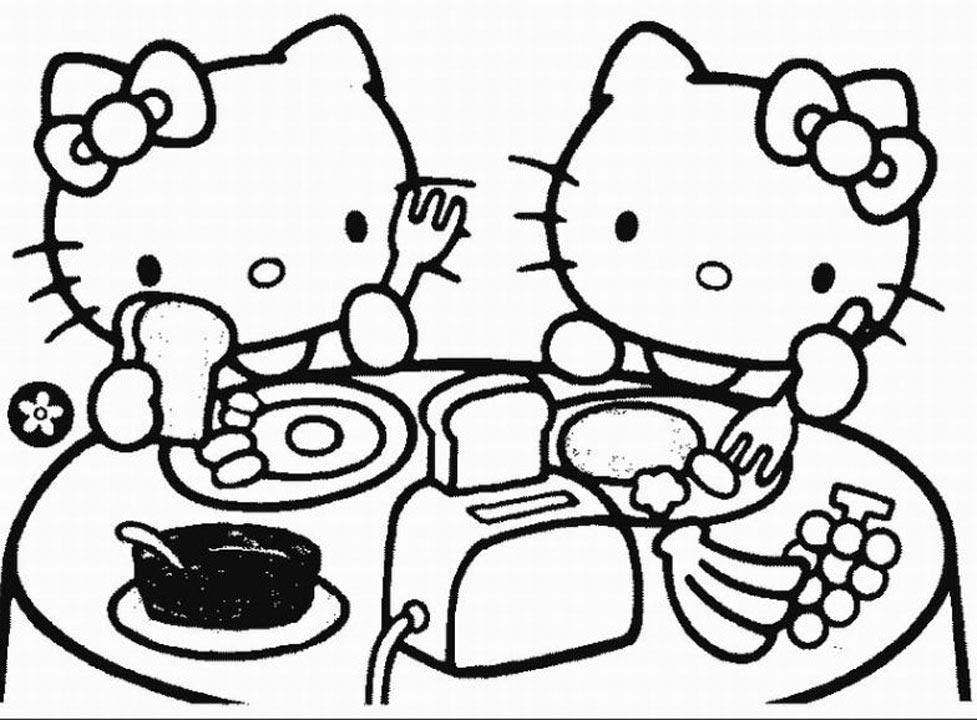 free hello kitty printables hello kitty coloring pages printables free kitty hello