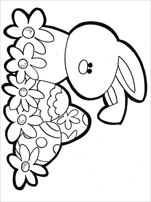 free printable easter coloring pages easter bunny coloring pages 360coloringpages pages printable easter free coloring