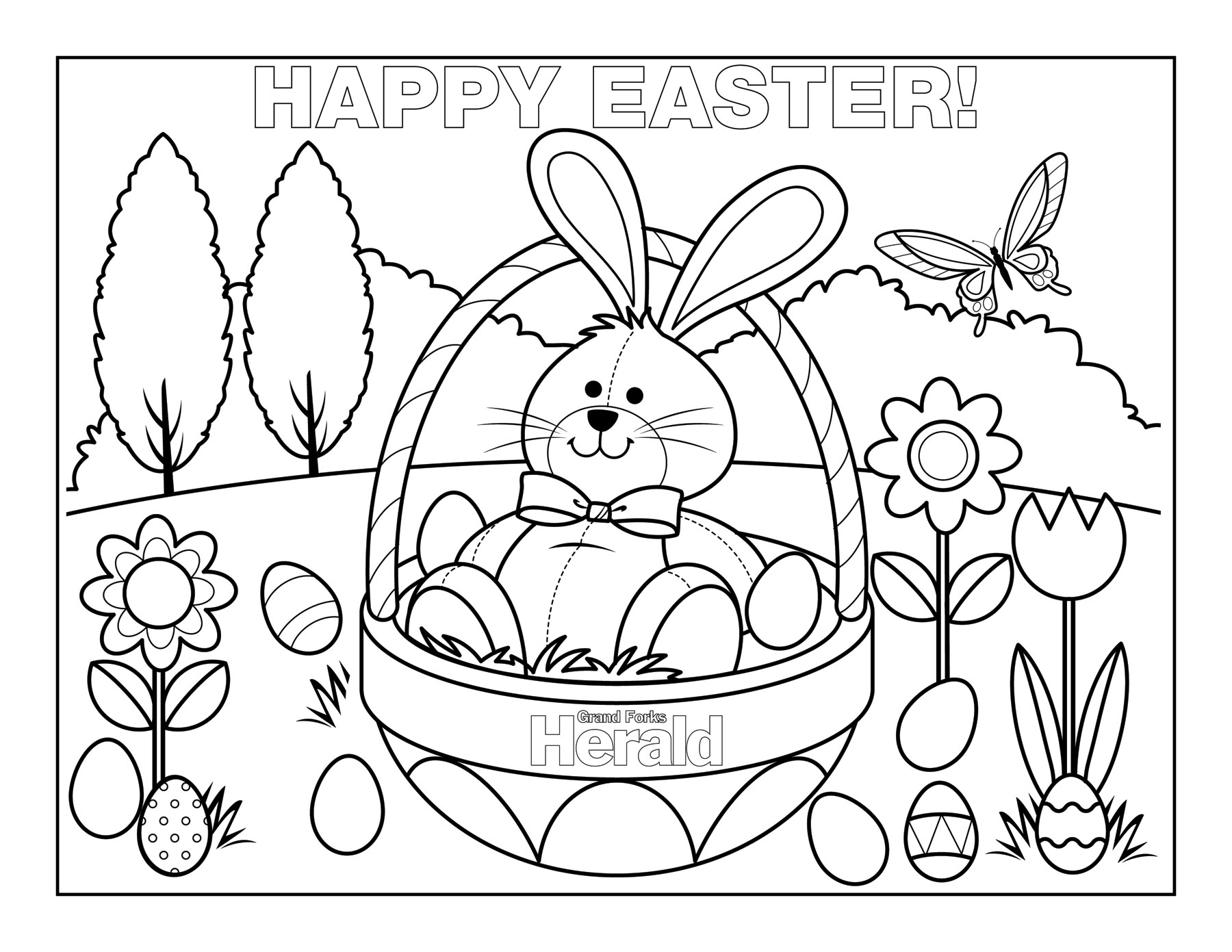 free printable easter coloring pages free printable easter coloring pages easter freebies between the kids coloring free printable easter pages