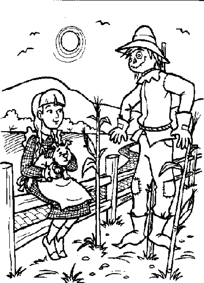 free wizard of oz printables dorothy holding toto coloring page free printable free printables of oz wizard