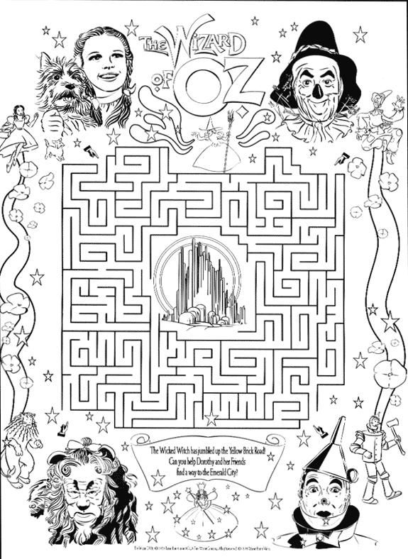 free wizard of oz printables wizard of oz coloring pages download and print wizard of printables wizard free of oz