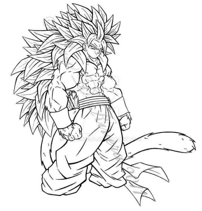 goku super saiyan 4 dragon ball z goku super saiyan 4 coloring pages for saiyan 4 super goku