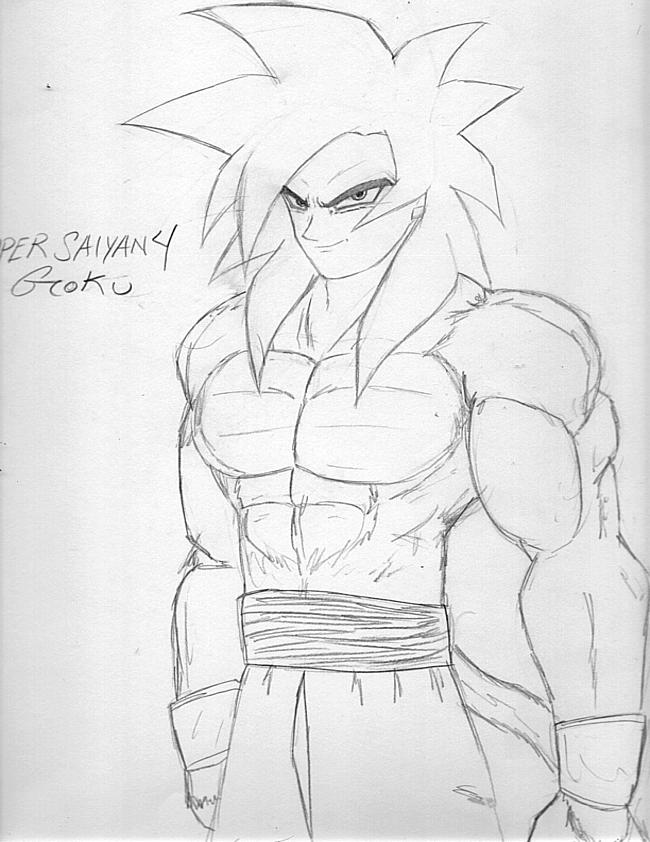 goku super saiyan 4 super saiyan 4 goku by doctor bones on deviantart 4 super saiyan goku