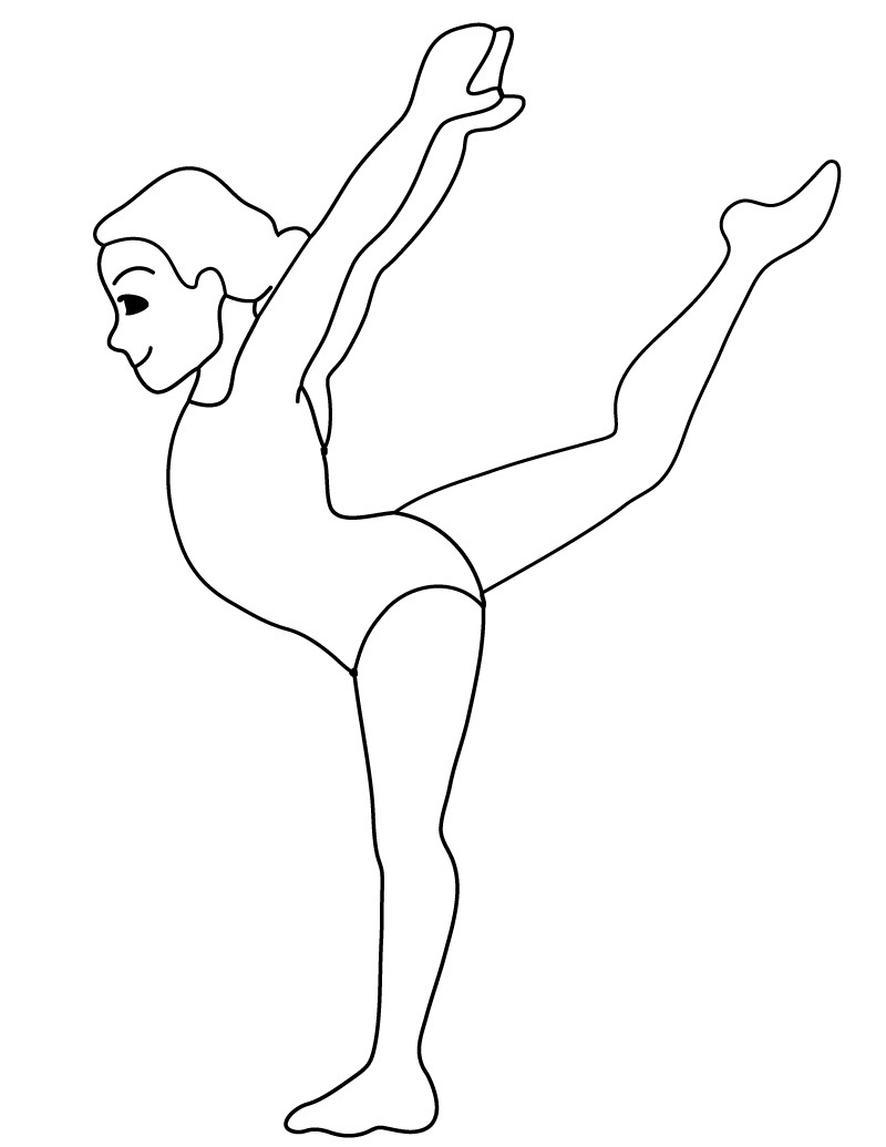 gymnastics coloring pages to print free printable gymnastics coloring pages for kids gymnastics to print coloring pages