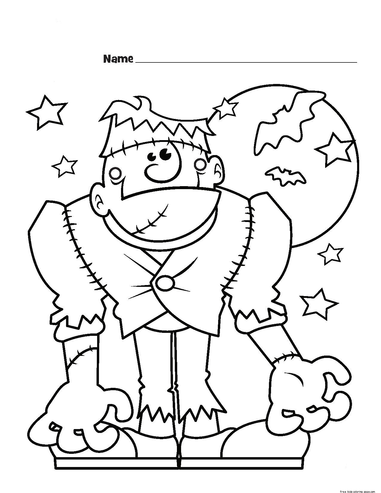 halloween frankenstein coloring pages these halloween coloring pages are the perfect antidote to fall boredom halloween frankenstein pages coloring halloween