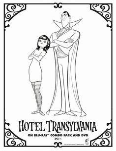 hotel transylvania 2 free coloring pages dibujos para colorear hotel transilvania 10 dibujos para hotel coloring free transylvania 2 pages