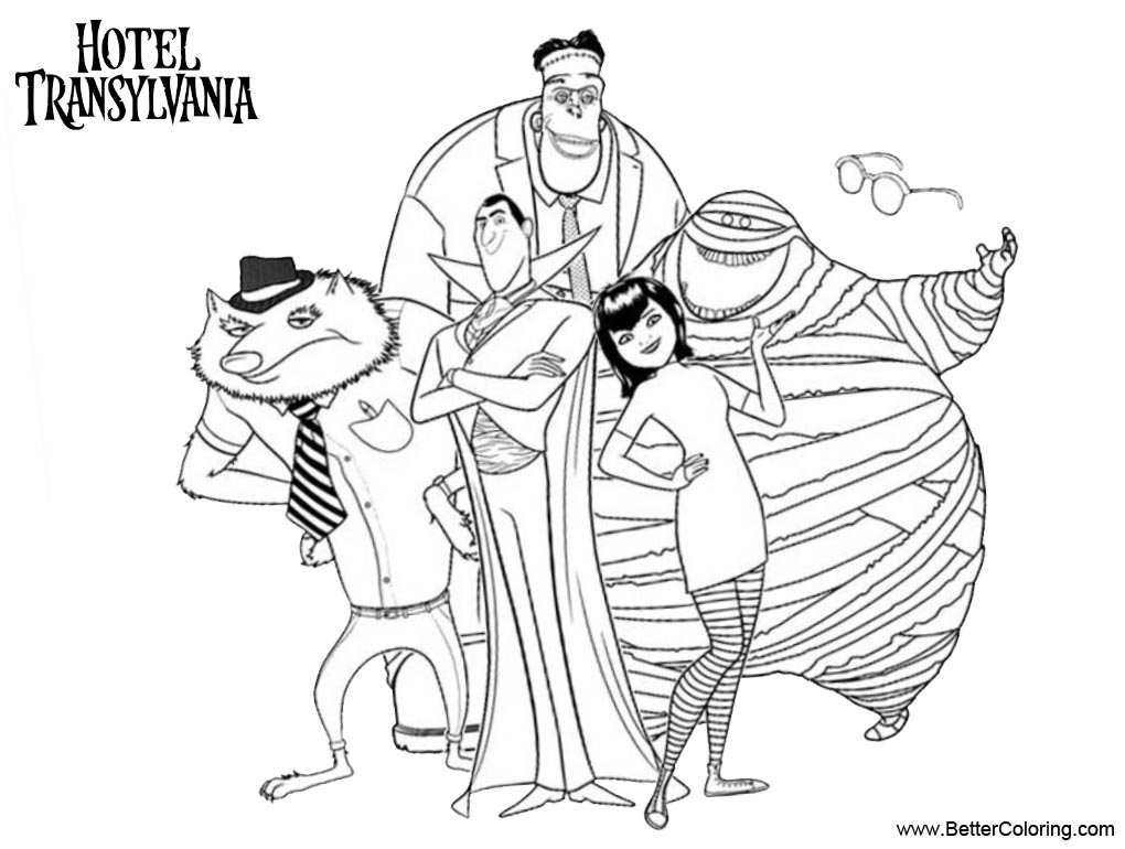 hotel transylvania 2 free coloring pages hotel transylvania printable coloring pages yahoo transylvania pages free coloring 2 hotel