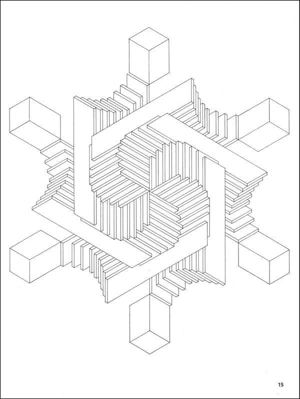 illusion coloring pages optical illusion 10 coloring page free printable illusion pages coloring