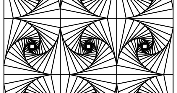 illusion coloring pages optical illusion 7 coloring page free printable coloring pages illusion coloring