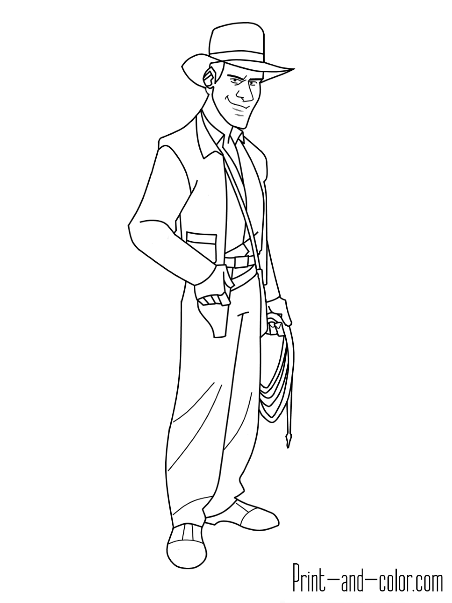 indiana jones coloring pages indiana jones coloring pages coloringpagesabccom jones pages coloring indiana