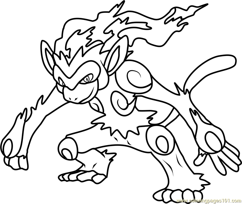 infernape coloring pages how to draw infernape step by step pokemon characters infernape pages coloring