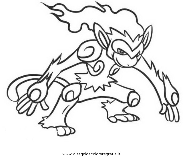 infernape coloring pages infernape pokemon coloring page free pokémon coloring coloring infernape pages