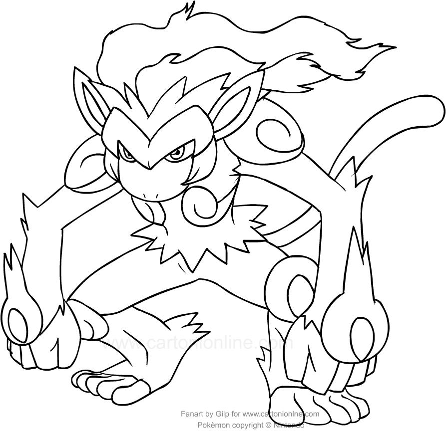 infernape coloring pages pokemon infernape coloring pages sketch coloring page pages coloring infernape