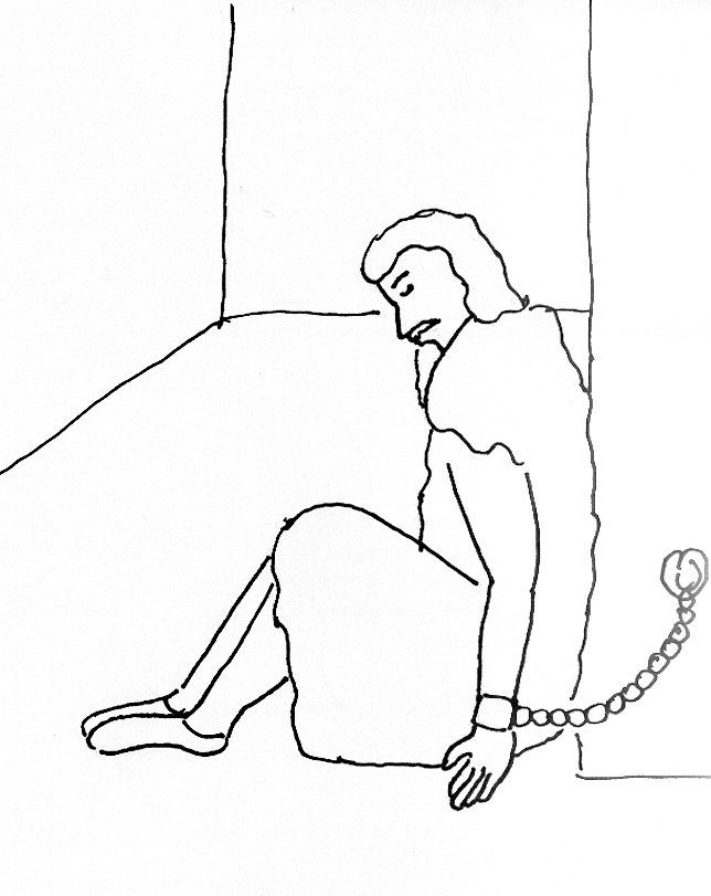 joseph in prison coloring pages charming idea joseph in jail coloring page sheet pinterest sunday school bible pages joseph coloring in prison