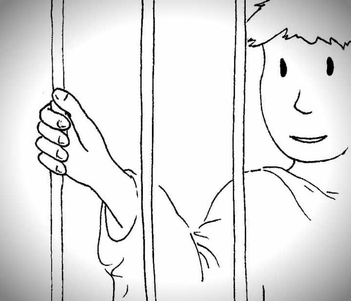 joseph in prison coloring pages josephs butler and baker dreams coloring page pages in coloring prison joseph